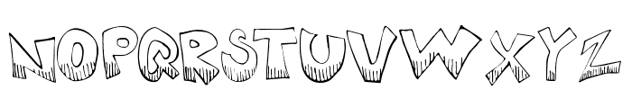 KrazyKool Font LOWERCASE