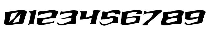 Kreature Kombat Warped Italic Font OTHER CHARS