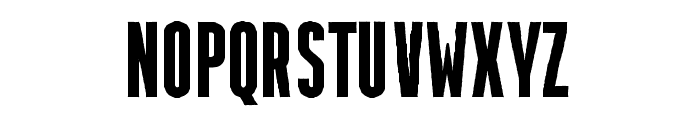 Krechanstaud Gothic Rough Font UPPERCASE