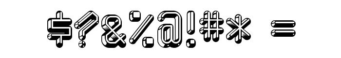 Kredit-Regular Font OTHER CHARS