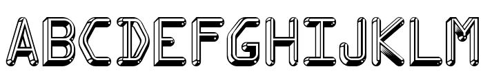 Kredit-Regular Font LOWERCASE