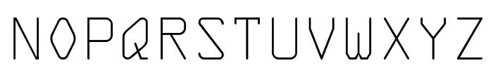 KreditFront-Regular Font UPPERCASE