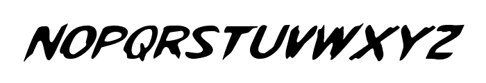 Kreeture Italic Font UPPERCASE
