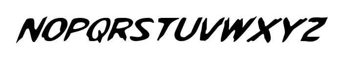 Kreeture Italic Font LOWERCASE