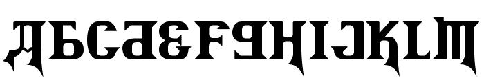 Kremlin Advisor Display Kaps Bold Font UPPERCASE