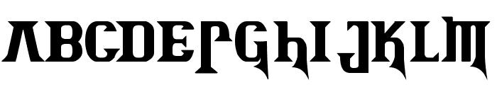 Kremlin Advisor Display Kaps Bold Font LOWERCASE