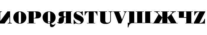 Kremlin Chairman Bold Font UPPERCASE