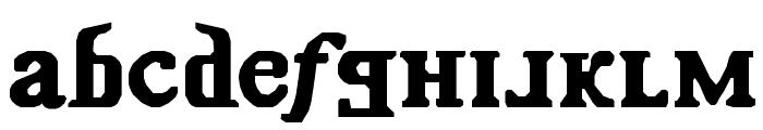 Kremlin Comrade Font LOWERCASE