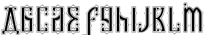 Kremlin Czar Font LOWERCASE