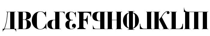 Kremlin Duma Bold Font UPPERCASE