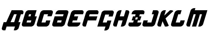 Kremlin Menshevik Bold Italic Font UPPERCASE