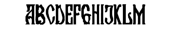 Kremlin Orthodox Church Font UPPERCASE