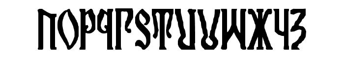 Kremlin Orthodox Church Font LOWERCASE