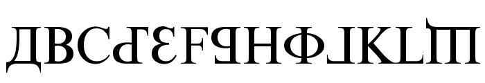 Kremlin Premier Font UPPERCASE