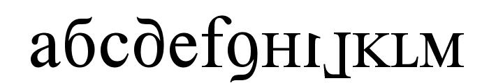 Kremlin Premier Font LOWERCASE