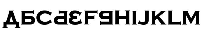 Kremlin Samovar Extra Bold Font UPPERCASE