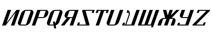 Kremlin Soviet Italic Font UPPERCASE