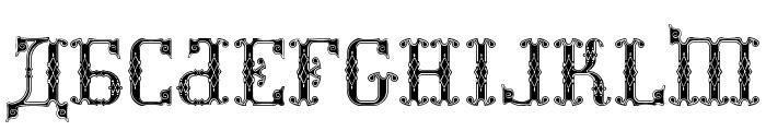 Kremlin Synod [Display Caps] Font UPPERCASE