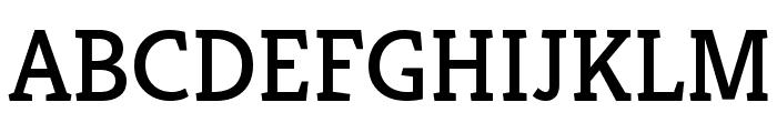 Kreon Regular Font UPPERCASE