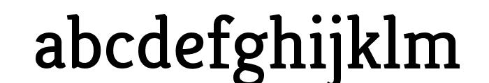 Kreon Regular Font LOWERCASE
