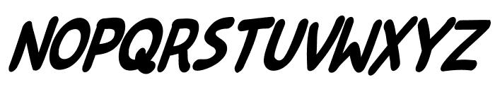 Kreskwka  Italic Font UPPERCASE
