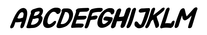 Kreskwka  Italic Font LOWERCASE