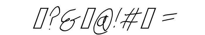 Krieg Font Oblique Font OTHER CHARS