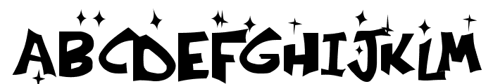 Kringle Castle Night Font UPPERCASE