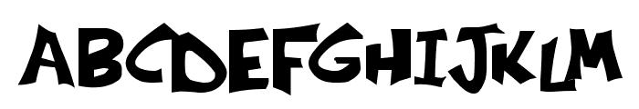 Kringle Castle Font UPPERCASE