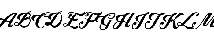 Krinkes Decor PERSONAL USE Font UPPERCASE