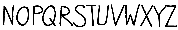 Kristenalwaysnotsonormal Font UPPERCASE