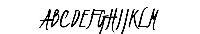 Kristi Medium Font UPPERCASE