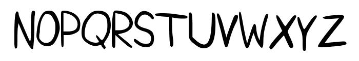 KristopherSansNeue Font UPPERCASE