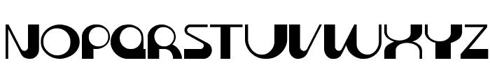 Krome normal Font UPPERCASE