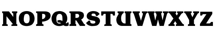 Krone ExtraBold Font UPPERCASE