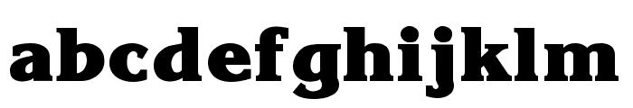 Krone ExtraBold Font LOWERCASE