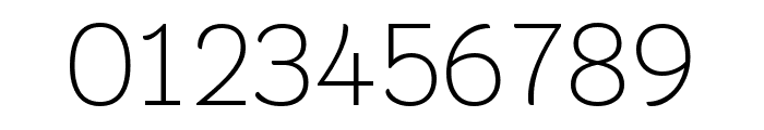 Krub ExtraLight Font OTHER CHARS