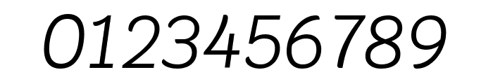 Krub Italic Font OTHER CHARS