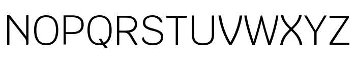 Krub Light Font UPPERCASE