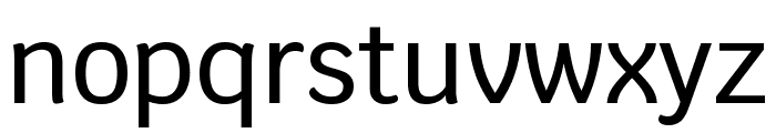 Krub Medium Font LOWERCASE