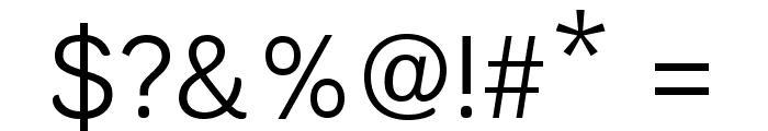 Krub Regular Font OTHER CHARS
