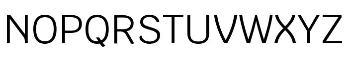 Krub Regular Font UPPERCASE