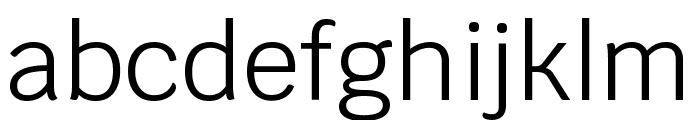 Krub Regular Font LOWERCASE