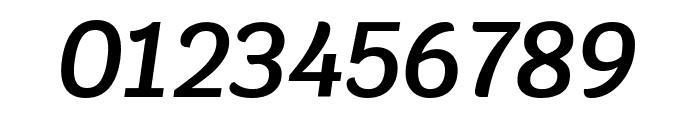 Krub SemiBold Italic Font OTHER CHARS