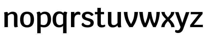 Krub SemiBold Font LOWERCASE