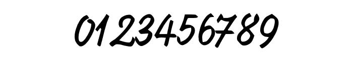 KrugmannBrush Font OTHER CHARS