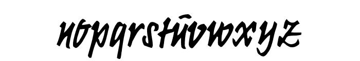 KrugmannBrush Font LOWERCASE