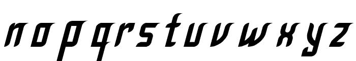 Krugovis-Italic Font LOWERCASE
