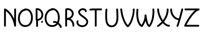 KrumkakeBold Font UPPERCASE