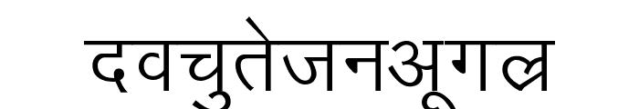 Kruti Dev 010 Font LOWERCASE